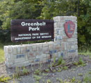 Entrance Sign for Greenbelt Park